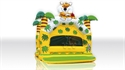 Picture for category Ballpool Jungle with roof, palm trees and figure ( balls sold separately )