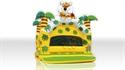 Obrazek dla kategorii Basen na piłki Dżungla z dachem, palmami i figurami (bez piłek)