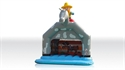 Picture of Bounce Cowboy with roof and figure 7,2 x 6,2 m