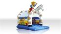 Obrazek Zamek Kowboj z dachem i z figurą  5,2 x 4,2 m