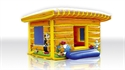 Picture of Bounce Canadian Cottage with roof 5 x 5 x 3,5 m