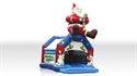 Picture of Bounce Santa Claus with roof and figures 6,2 x 5,2 x 7,9 m