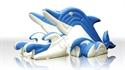 Obrazek Zjeżdżalnia Delfin SUPER MINI 5 x 3,2 x 2 m