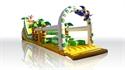 Obrazek dla kategorii Zjeżdżalnia Dżungla z placem zabaw